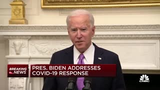 Biden Already Breaking New Mask Mandate Within Federal Buildings