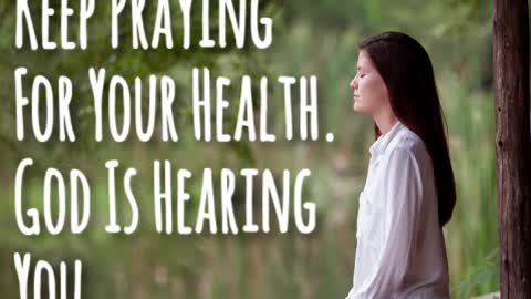 Praying For Your Health