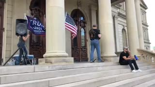 Day 4 Michigan State Capitol STOP THE STEAL