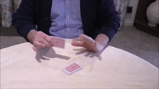 A Card Continually Jumps Around The Stack In A Baffling Manner - Video