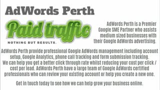 Google AdWords help - Video