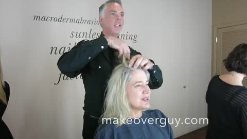 MAKEOVER: My Hair is Thinning! by Christopher Hopkins, The Makeover Guy®