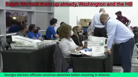 Georgia - Ruby caught on video *WITH AUDIO* Discussing Stealing Votes
