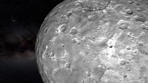 NASA releases incredible flyover of dwarf planet Ceres