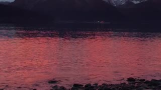 Beautiful Alaskan Sunrise - Video