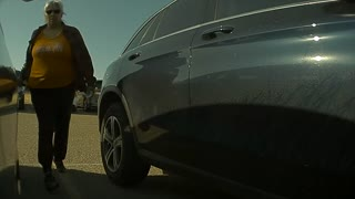 Sentry Mode Catches Woman Keying Car