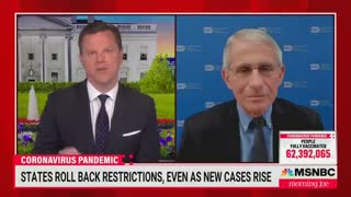 Fauci Stumbles When Asked Why Cases In Texas Are Dropping