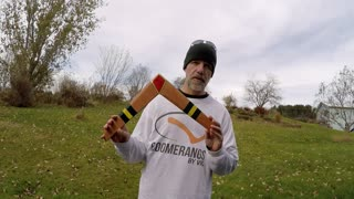 Fully functional boomerang inspired by 'Legend of Zelda' - Video