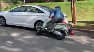 Short Scooter Ride