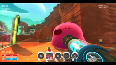 SLIME RANCHER - FEED A PINK GORDO