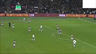 Juan Mata goal vs West Ham - Video