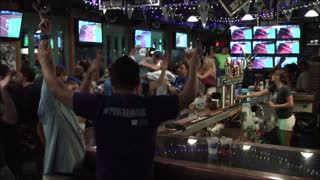 Reaction to Kansas City Royals Wild Card win - Video