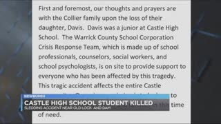 High School Student Killed After Her Sled Entered Street Was Hit By Drunk Driver - Video
