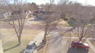 New Town quick drone flight