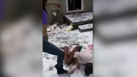 Woman Get Beat Up By Two Females Over Boyfriend
