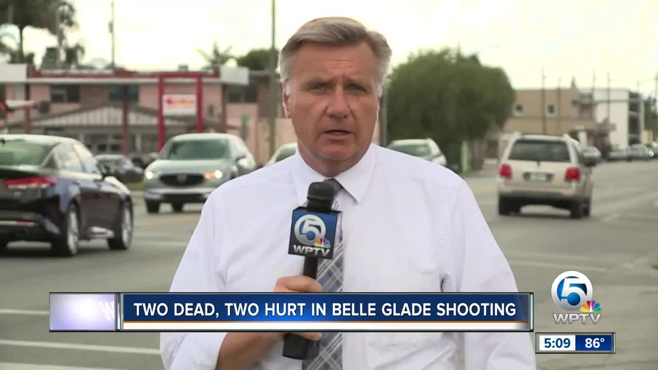 PBSO investigating deadly double shooting in Belle Glade