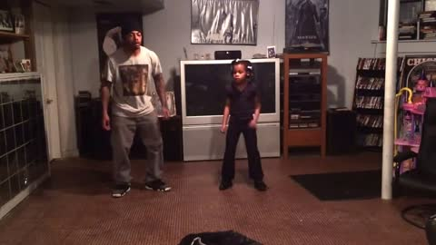 Amazing Dance Duo Performance By Father and Daughter