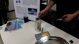 Quantum levitation explained (and demonstrated) Unbelievable! - Video