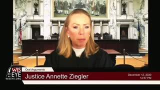 JUDGE SMASHES DEFENCE'S WEEK ARGUMENT! Wisconsin Supreme Court