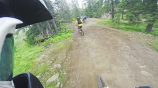 Downhill biking in Hafjell! - Video