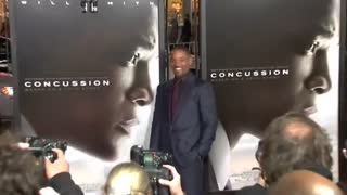 "Will Smith says ""Concussion"" is personal - Video"