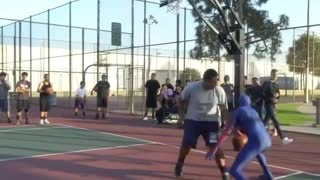 How Professional of Spider Man in Playing Basketball - Video