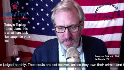 Freedom Talk with Phil - 14 March 2021