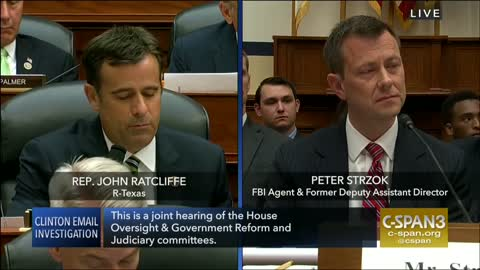 Ratcliffe rips Strozk: Except for 50,000 texts about 'f***ing' Trump