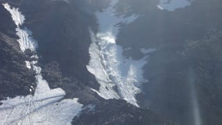 Rolling Stones - Rockfall in GRAND COULOIR - MONT BLANC