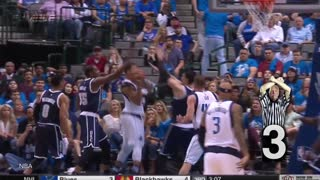 Hardest Hits Of The 2016 NBA Playoffs...So Far - Video