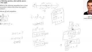 Possible Solutions for Inequalities: Practice GRE with a Cambridge PhD