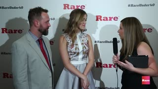 Sadie Robertson on the red carpet | Rare Under 40 Awards - Video