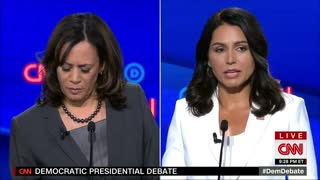 Tulsi Gabbard attacks Kamala Harris