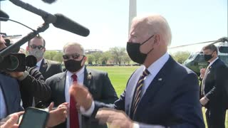 Reporter Confronts Biden About Funding For Infrastructure Plan—He Doesn't Handle It Well