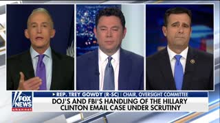Gowdy: 'Almost Everything' Was Done Differently in Hillary Clinton Email Probe
