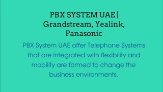 Yealink Phones Dubai - Video