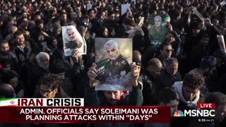 Chris Matthews compares Iran general's funeral to others