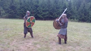 Epic viking fight! - Video