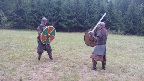 Epic viking fight!