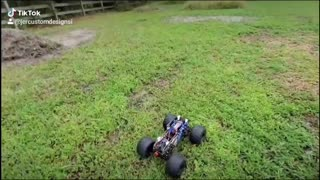 JERRC PERSES CHASSIS MONSTER TRUCK