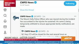 Mount Holly Police Officer Killed in Early Morning Shootout