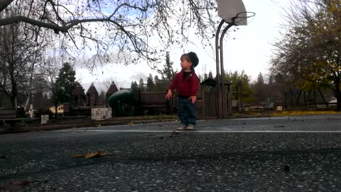 Two-Year-Old Shows Off Impressive Dance Moves