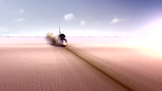 Bullet-proof Bloodhound car aims for 1,000mph record - Video