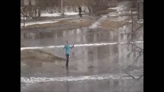 Russian Cross Country Skiing - Video