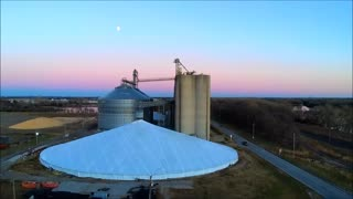 Grain Elevator view from the top