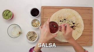 Don't Pay Extra For Guac! Chipotle's Quesarito Recipe Made Easy - Video