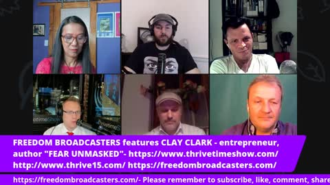 FREEDOM BROADCASTERS Interview   The COVID-19 Chaos and the Great Reset Explained