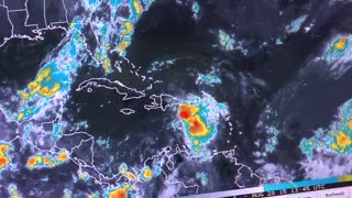 Tropical Storm Erika threatens Dominican Republic - Video