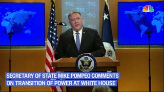 Pompeo on transition to 2nd Trump term...