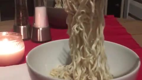 What happens when you eat noodles during a polar vortex?
